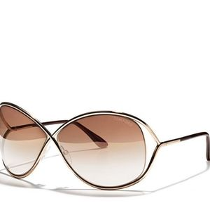 Tom Ford Oversized Miranda Sunglasses